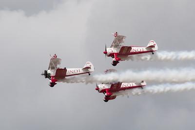 """Team Guinot Wingwalkers """"Boeing Stearman A75s"""""""