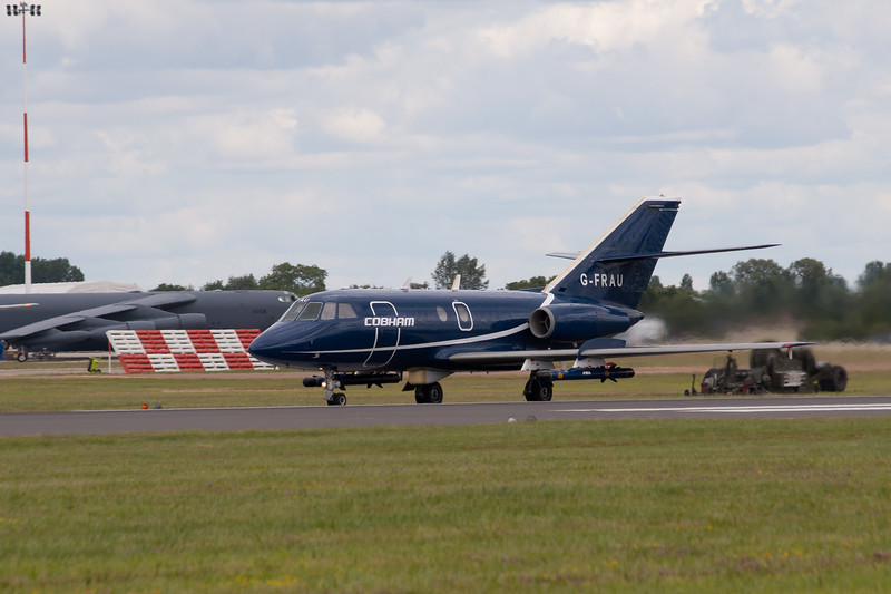 "The Black Seahawks ""Dassault Falcon 20s"""