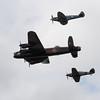 1945 - Avro Lancaster Mk 1 - Supermarine Spitfire PRXIX - Hawker Hurricane IIC