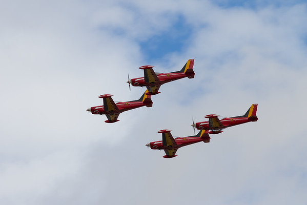 "Siai-Marchetti SF260s ""The Red Devils""  (Belgian Air Component)"