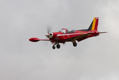 """Siai-Marchetti SF260s """"The Red Devils""""  (Belgian Air Component)"""