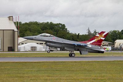 General Dynamics F-16A MLU Fighting Falcon  (Royal Danish Air Force)