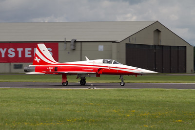 "The Patrouille Suisse Aerobatic Team (Swiss Air Force) ""Northrop F-5E Tiger II"""