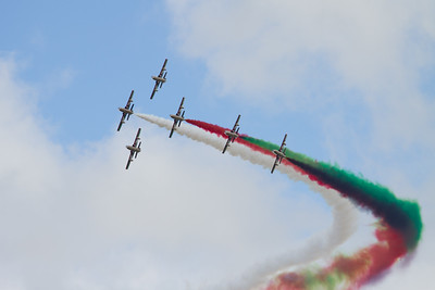 "Al Fursan Aerobatic Team (United Arab Emirates Air Force)  ""Aermacchi MB339 NAT"""