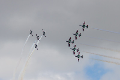 "Frecce Tricolori ""Aermacchi MB339As"" (