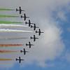 "Frecce Tricolori ""Aermacchi MB339As"" (|talian Air Force Aerobatic Team)"