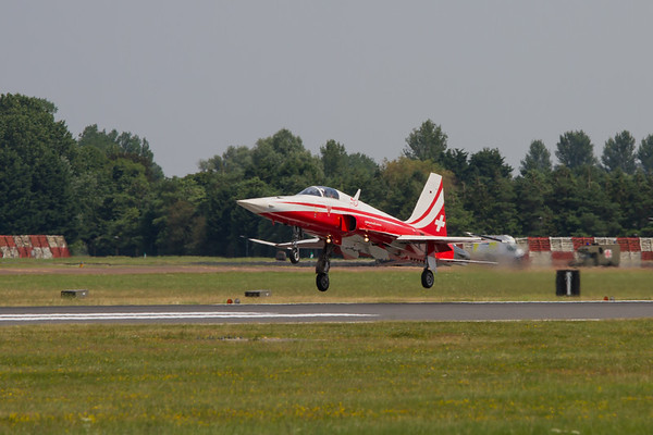 The Patrouille Suisse - Northrop F-5E Tiger II (Swiss Air Force Aerobatic Team)