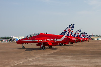 The Red Arrows - BAe Hawk T1/T1A (Royal Air Force Aerobatic Team)