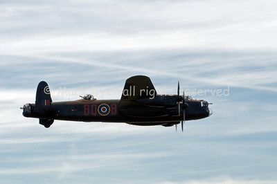 Battle of Britain Memorial Flight Lancaster at Biggin Hill June 2010