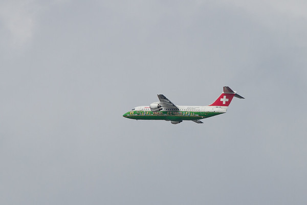 British Aerospace Avro RJ100 - Swiss Air Lines