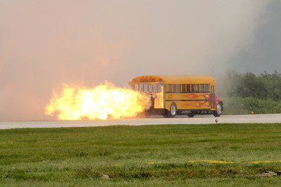 School Time Jet Bus