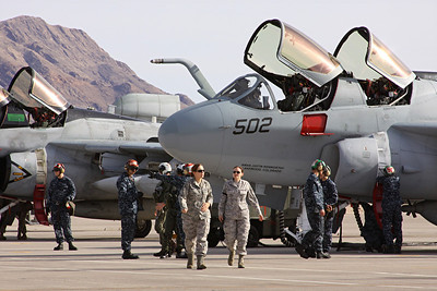 US Navy EA-6B Prowler, Air Test and Evaluation Squadron NINE, Naval Air Weapons Station China lake, CA
