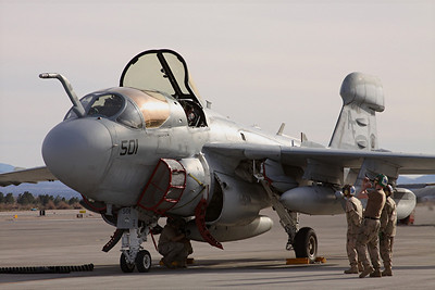 US Navy EA-6B Prowler, Electronic Attack Squadron 209, NAF Washington, DC
