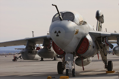 US Navy EA-6B Prowler, Electronic Attack Squadron 139, NAS Whidbey Island, WA