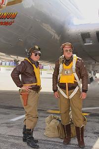 B-17 pilot re-enactors