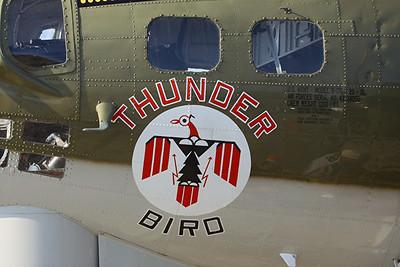 Boeing B-17G Flying Fortress, Thunderbird