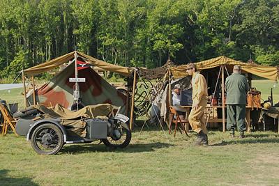 re-enactor camp