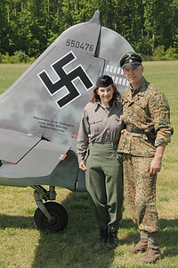 Luftwaffe re-enactors