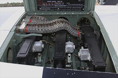 North American P-51D Mustang.  .50 Machine Guns
