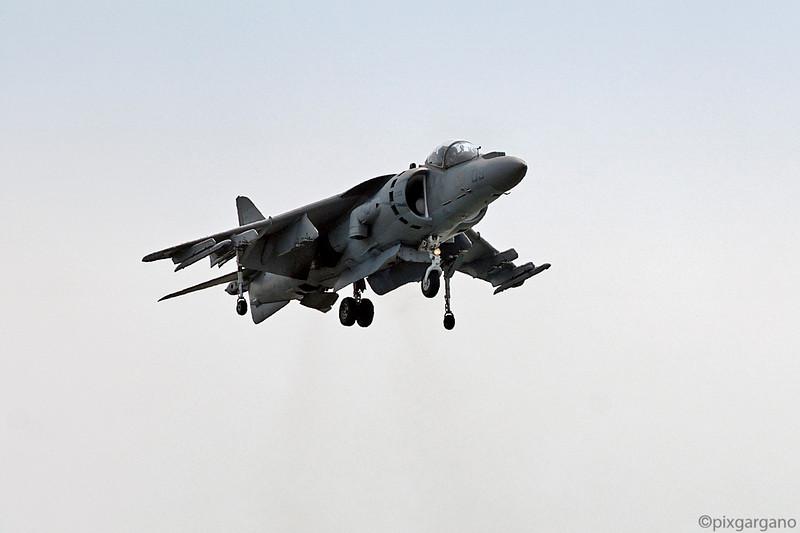 USMC VTOL Harrier Jet