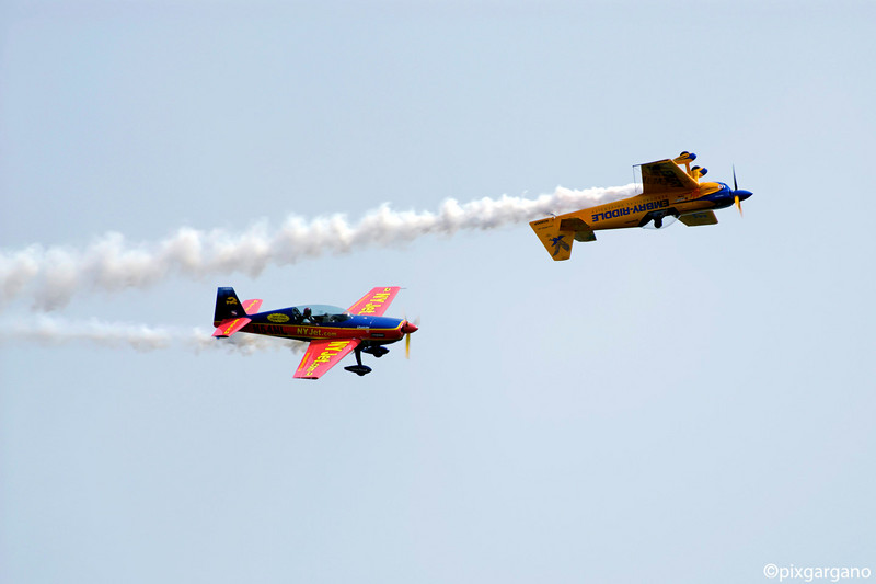 Matt Chapman/Michael Mancuso Aerobatics Show
