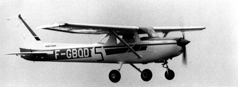 Tour de l'Ouest 1980. Mon F-152 II F-GBQD.