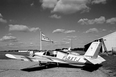 Morane-Saulnier Ms880 de l'aéroclub Jean Maridor. Le Havre, février 1979.