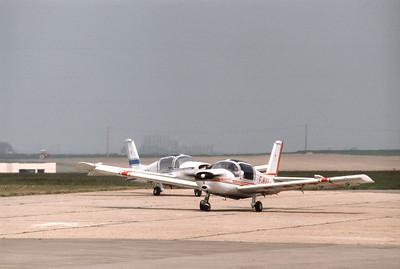 MS880B de l'aéroclub Jean Maridor, au Havre, mai 1978.