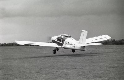 Mai 1979 : méchoui de l'aéroclub du Havre à Condé sur Noireau (LFAN). Concours d'atterrissage de précision.