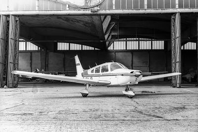 PIPER PA 28-151 WARRIOR 1  F-GAJB de 1976.