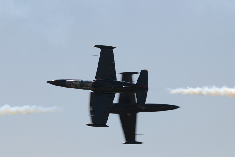 the shot that could have been -- not quite sharp enough on the foreground aircraft...