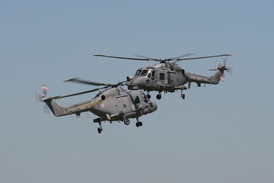 Westland Lynx HMA8DSP (Royal Navy Black Cats Display Team)