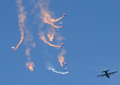 RAF Falcons Parachute Team (Royal Air Force)