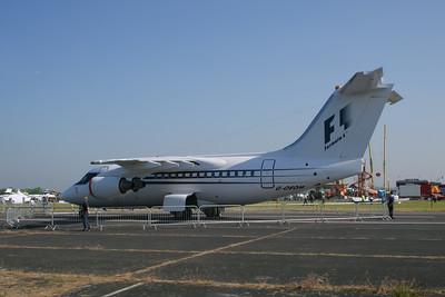 "BAe 146-100 ""Owned by Bernie Ecclestone"""