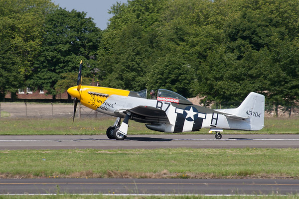 "North American P-51D Mustang ""Ferocious Frankie"""