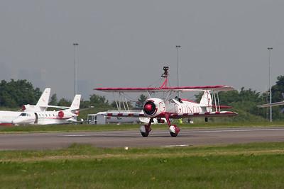 """Team Guinot Wingwalkers """"Boeing PT-13D Stearman"""""""