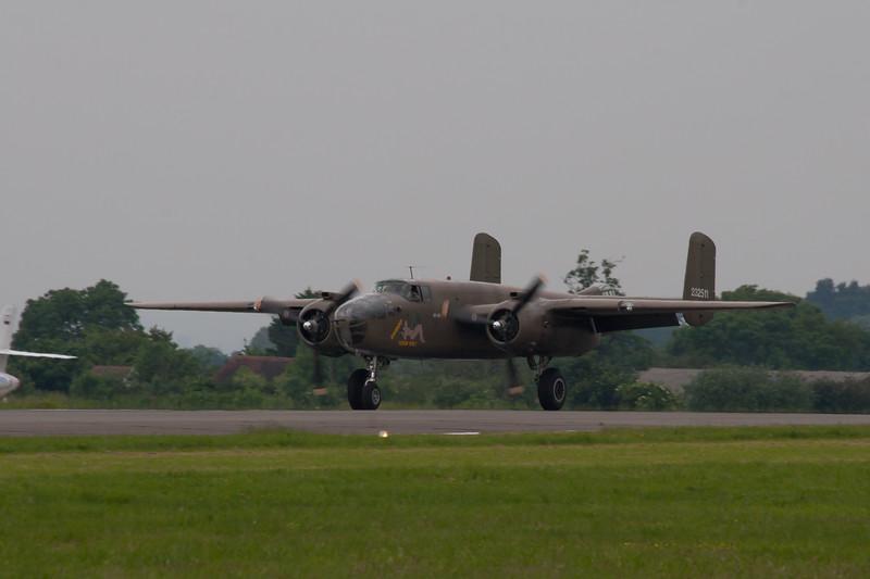 "1944 - North American B 25N Mitchell ""Sarinah"""