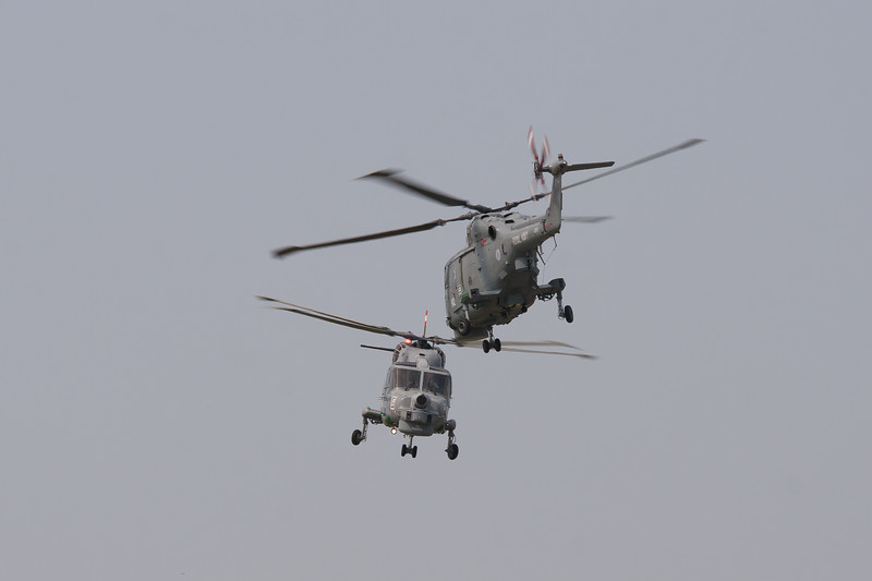 The Black Cats Helicopter Display Team - Agusta-Westland Lynx Mk8