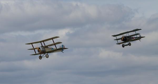 Sopwith Triplane Replica & Fokker Dr1