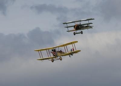 Royal Aircraft Factory B.E.2 & Fokker Dr1