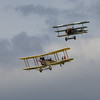 Royal Aircraft Factory B.E.2 Replica & Fokker Dr1 Triplane Replica