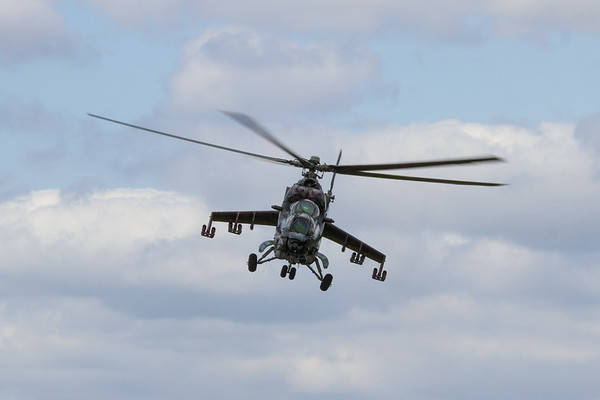 """Mil Mi-35 """"Hind"""" Attack Helicopter"""