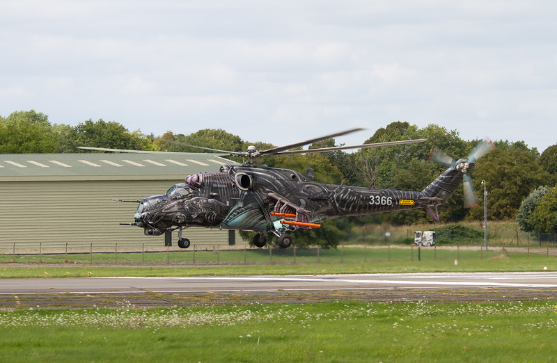"Mil Mi-35 ""Hind"" Attack Helicopter"