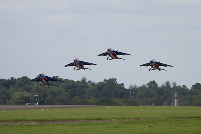 "The Patrouille de France ""Alpha Jet Es"" (French Air Force Aerobatic Team)"
