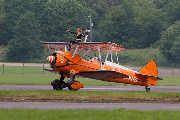 """Boeing Stearman """"Breitling Wingwalkers"""""""