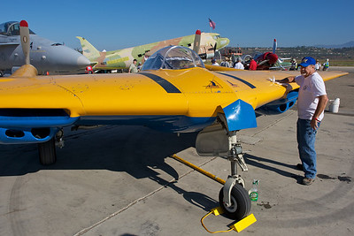 Camarillo Air Show 2010. Northrop N-9M Flying Wing from the Planes of Fame Museum at Chino.