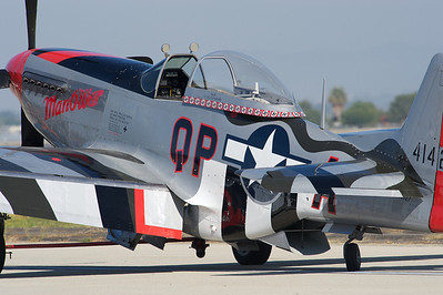 Camarillo Air Show 2010. North American P-51D 'Mustang'.