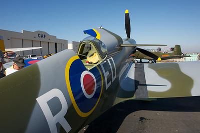 Camarillo Air Show 2010. Supermarine Spitfire.