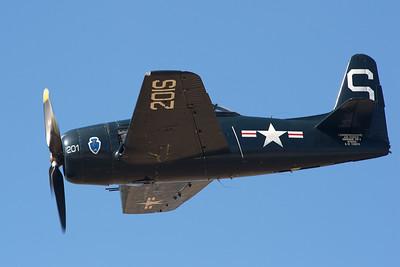 Camarillo Air Show 2010. CAF F8F-2 Bearcat.