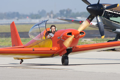 Camarillo Air Show 2010. Fournier RF-4 motor glider.